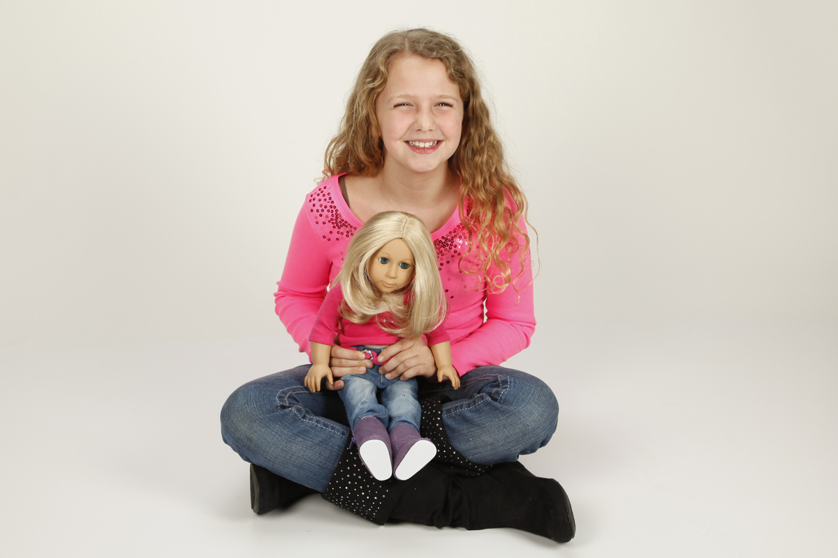 "18"" Doll BFF Carly with Halley"