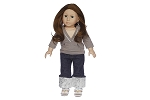 Gray Hoddie with Jeans by BFF Doll Company
