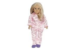 Full Satin PJs by BFF Doll Company